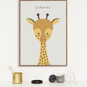 Cute Animal Print - Negative Space