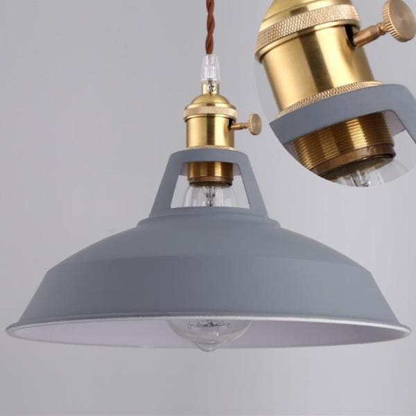 Industrial Pendant Light - Negative Space