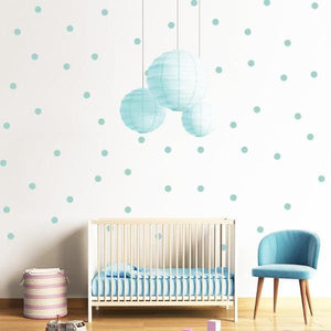 Polka Dot Wall Decals - Negative Space