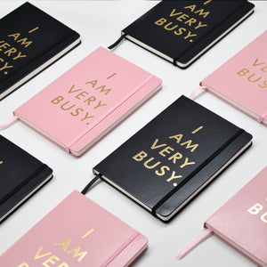 Hardcover I Am Very Busy Planner | Organiser Notebook A5
