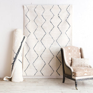 Geometric Nordic Soft Area Rug
