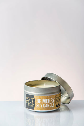 Be Merry Soy Candle