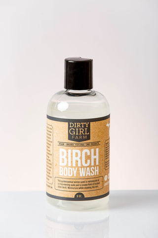 Dirty Girl Farm Birch Body Wash