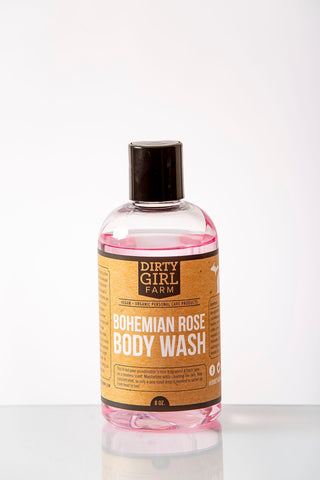 Dirty Girl Farm Bohemian Rose Body Wash