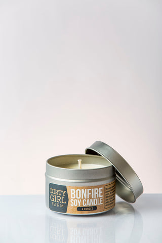 Dirty Girl Farm Bonfire Soy Candle