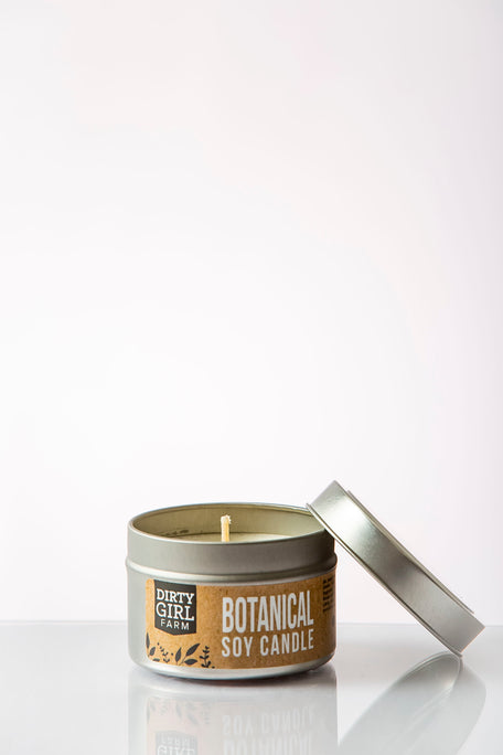 Dirty Girl Farm Botanical Soy Candle
