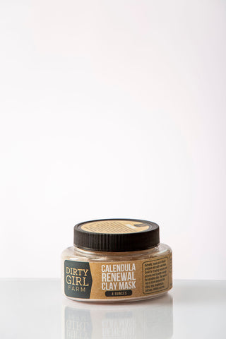 Dirty Girl Farm Calendula Renewal Clay Mask
