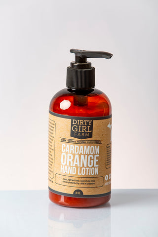 Dirty Girl Farm Cardamom Orange Hand Lotion