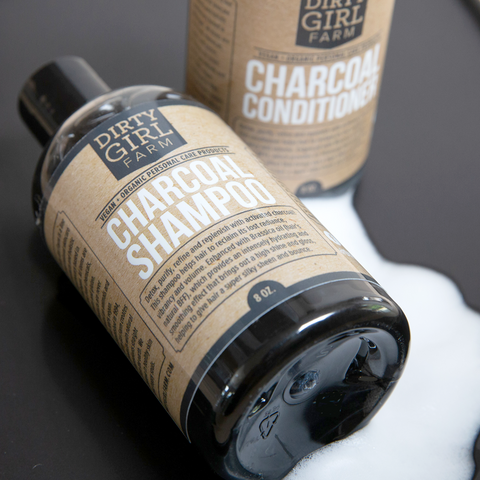 Dirty Girl Farm Charcoal Shampoo