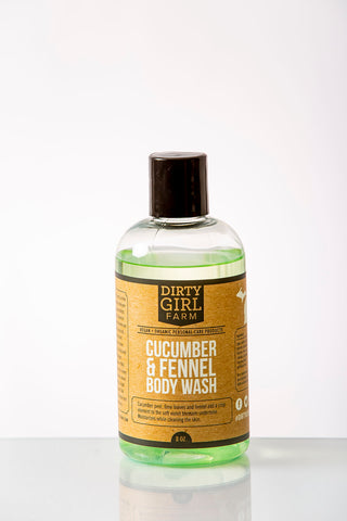 Dirty Girl Farm Cucumber and Fennel Body Wash
