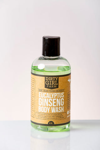 Dirty Girl Farm Eucalyptus Ginseng Body Wash