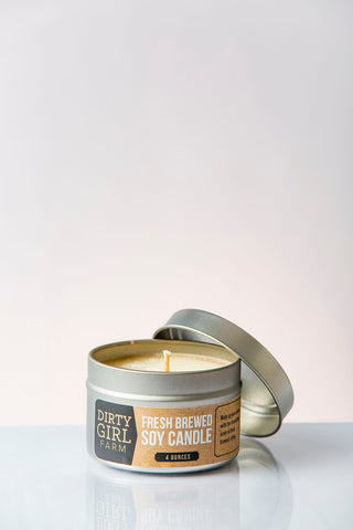 Dirty Girl Farm Fresh Brewed Soy Candle