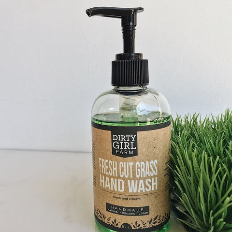 Dirty Girl Farm Fresh Cut Grass Hand Wash