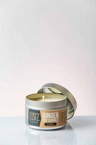 Ginger Soy Candle