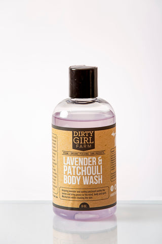 Dirty Girl Farm Lavender and Patchouli Body Wash