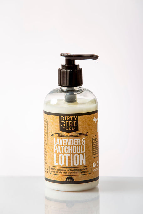 Dirty Girl Farm Lavender & Patchouli Lotion