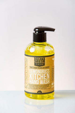 Dirty Girl Farm Lemongrass Kitchen Hand Wash