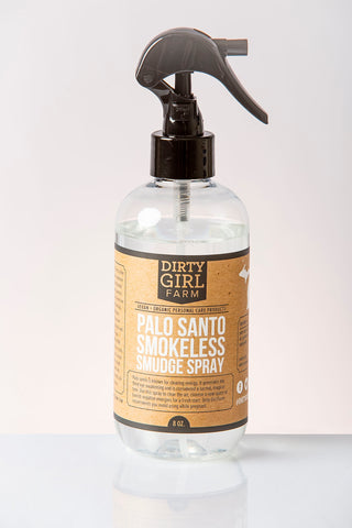 Dirty Girl Farm Palo Santo Smokeless Smudge Spray