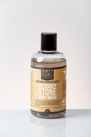 Dirty Girl Farm Petoskey Stone Body Wash