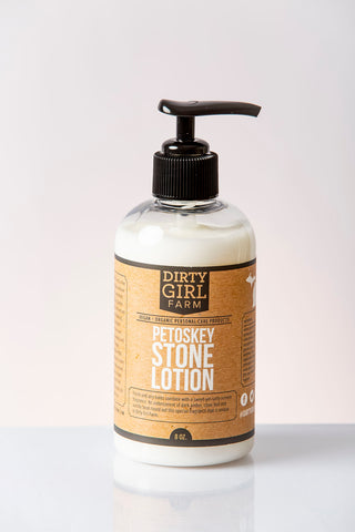 Dirty Girl Farm Petoskey Stone Lotion