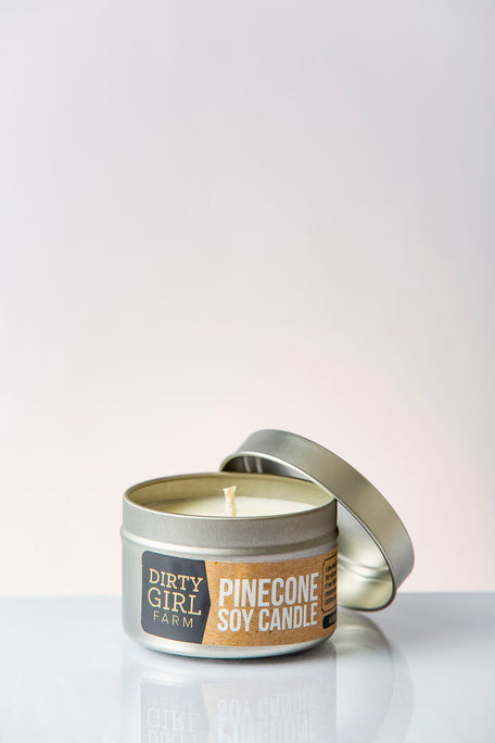 Pinecone Soy Candle