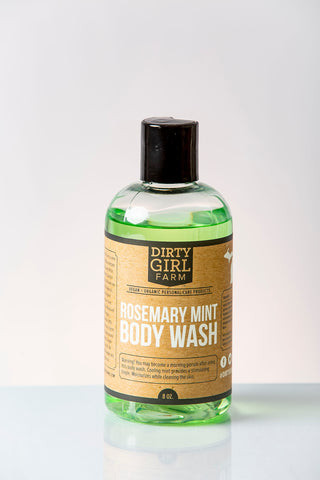 Dirty Girl Farm Rosemary Mint Body Wash