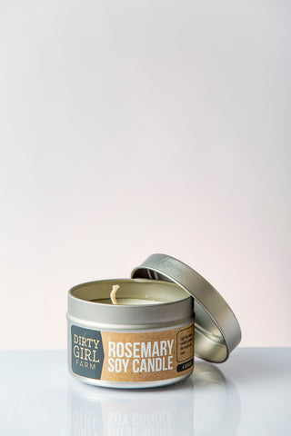 Dirty Girl Farm Rosemary Soy Candle