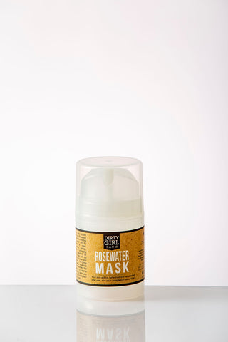 Dirty Girl Farm Rosewater Mask