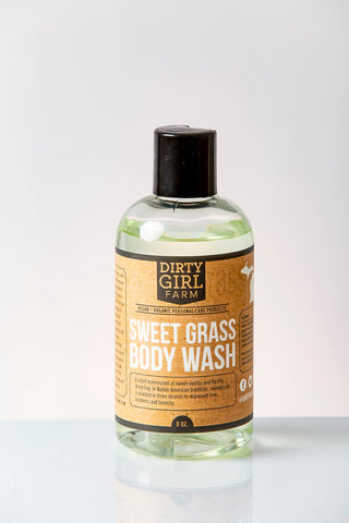 Dirty Girl Farm Sweet Grass Body Wash