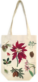 Christmas Botanical Tote Bag