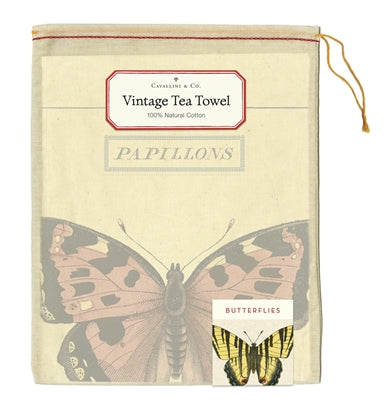 Butterfly Tea Towel