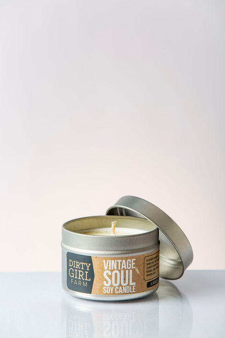 Dirty Girl Farm Vintage Soul Soy Candle