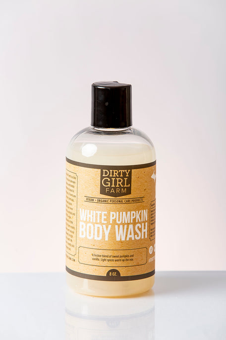 Dirty Girl Farm White Pumpkin Body Wash