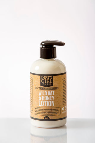 Dirty Girl Farm Wild Oat and Honey Lotion