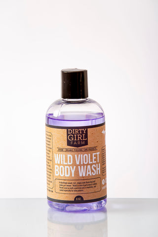 Dirty Girl Farm Wild Violet Body Wash