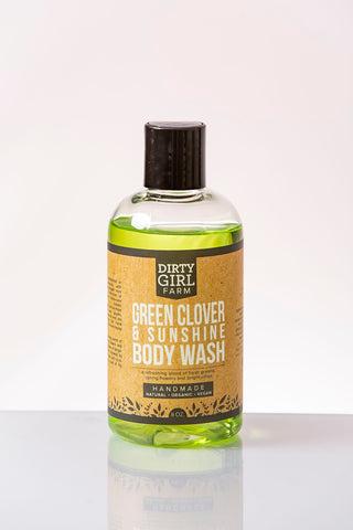 Green Clover and Sunshine Body Wash