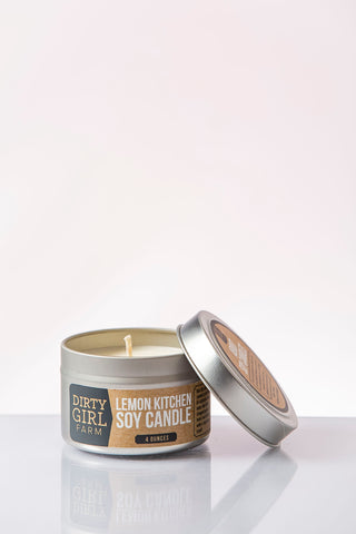 Lemon Kitchen Soy Candle