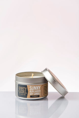 Sunny Herb Garden Soy Candle