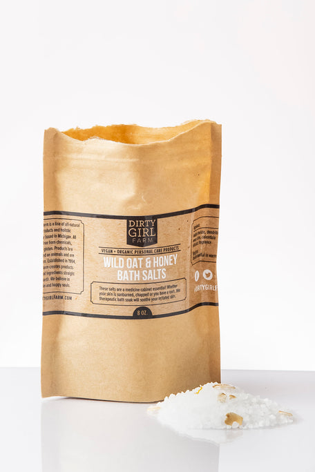 Wild Oat & Honey Bath Salts