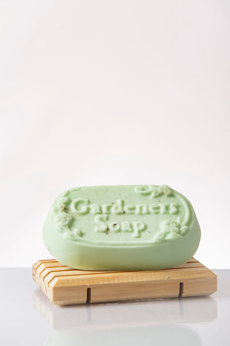 Gardener's Soap with Wooden Soap Tray