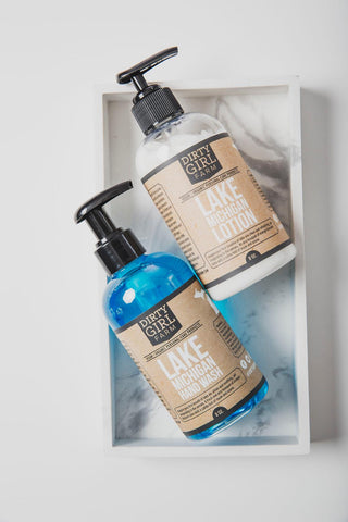 Lake Michigan Lotion and Hand Wash Set