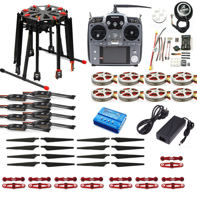 JMT Pro 2.4G 10CH RC 8-Axle Octocopter Drone Tarot X8 Folding frame ...
