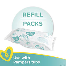 Pampers Sensitive Water-Based Baby Diaper Wipes, 9 Refill Packs for Dispenser Tub - Hypoallergenic and Unscented - 576 Count: Health & Personal Care