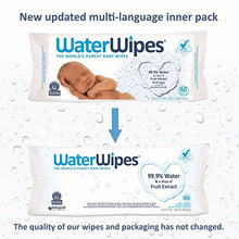 WaterWipes Sensitive Baby Wipes, 9 Packs of 60 Count (540 Count): Health & Personal Care