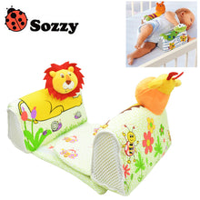 1pcs Sozzy Baby Finalize Design Pillow Anti Roll Pillow Adjust Position Shaping Side Sleeping Pillow frog Lion Giraffe - Babypalaces