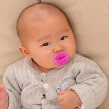 Kiss Style Pacifier Kids Safe Nipple Portable Baby Teat Funny Pacifier Strengthen Baby's Gums Silicon Infant Toys