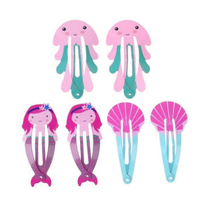 6pcs/Set Kids Girls Lovely Hairpins Girls Cartoon Cute Hair Clip Kids Hairpin Hair Accessories Girls Party Gifts - Babypalaces