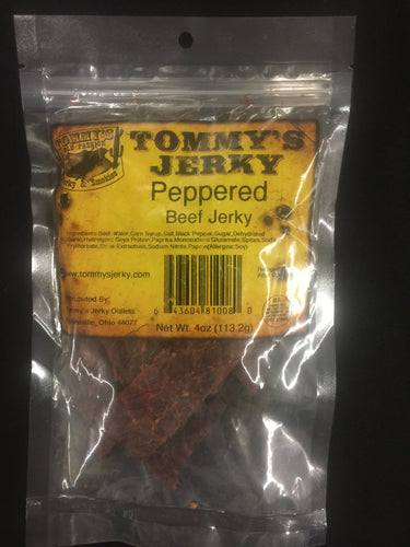 Tommy's Black Peppered Jerky