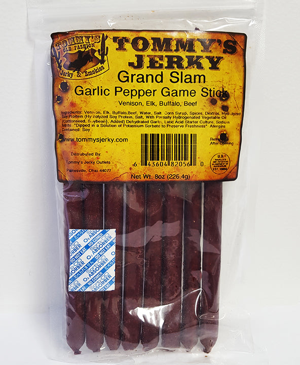 Tommy's Grand Slam Sticks Garlic & Pepper Seasoning