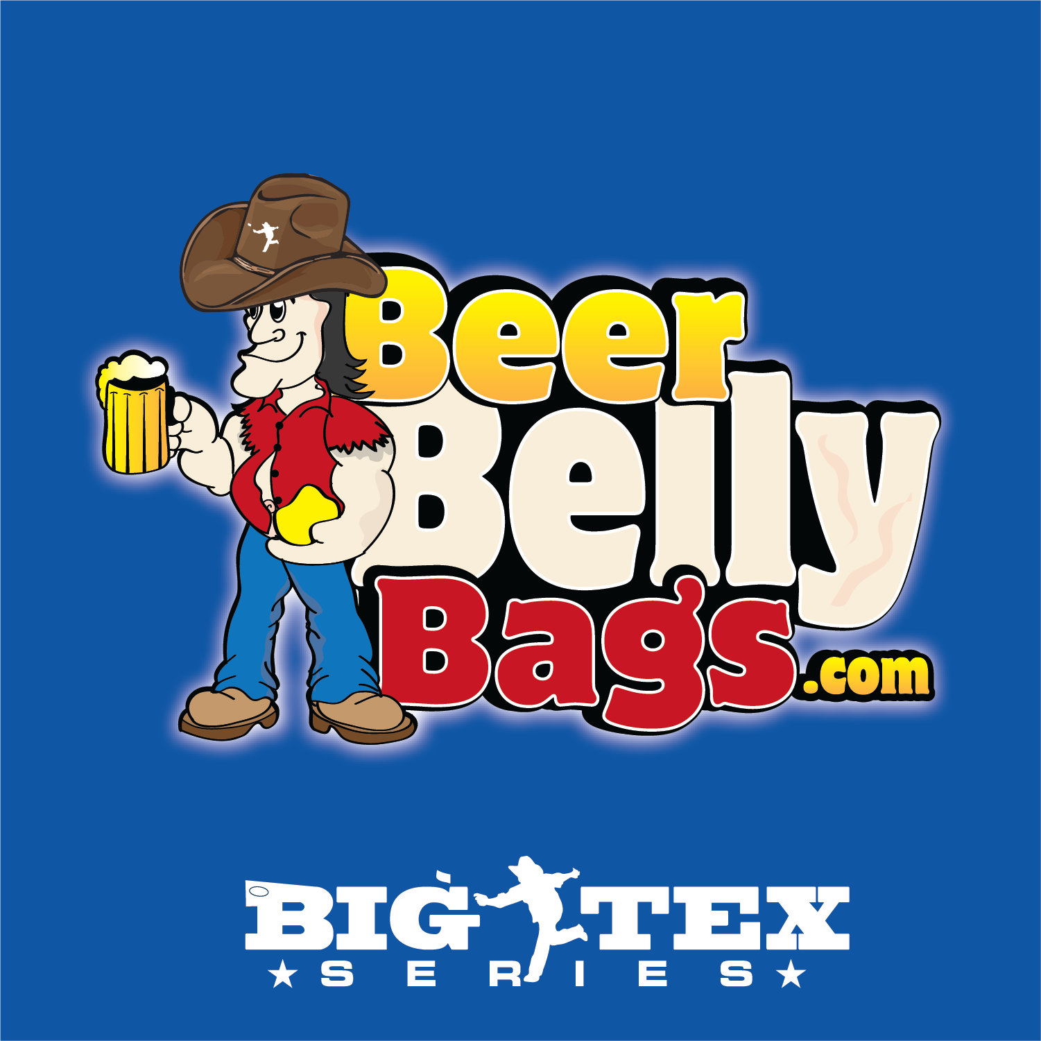 Beer Belly Big Tex Series Cornhole Bags